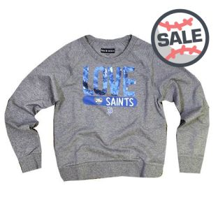 5th And Ocean Girls Love Crewneck Sweatshirt