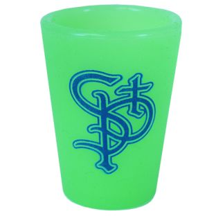 BWM Glow In The Dark Silicone Shot Glass