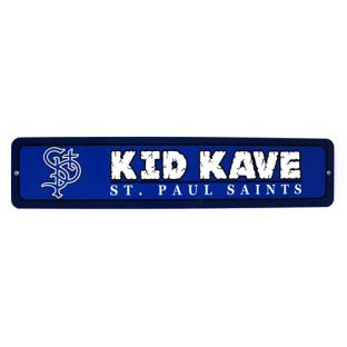 JayMac Sports 4 x18 Kid Kave Steel Sign