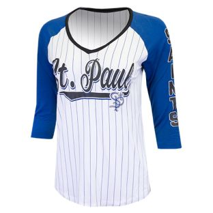 New Era Ladies Pinstripe Jersey T-Shirt
