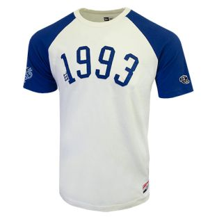 New Era Brushed Jersey Raglan Crew T-Shirt