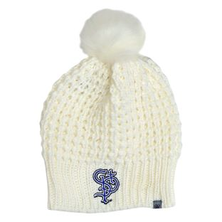 Top of the World Women's Bunny Pom Knit Hat