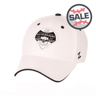 Zephyr 2019 All-Star Game White Out Adjustable Hat