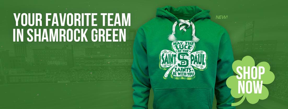 St. Paul Saints St. Patrick's Day Sweatshirt